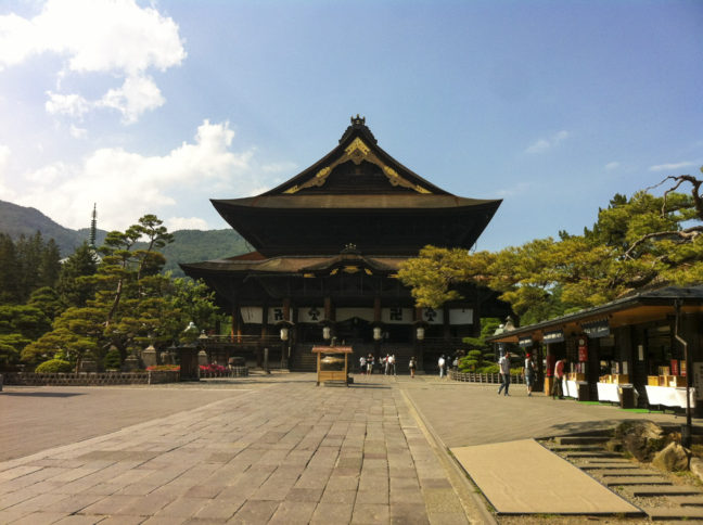 Temple in Nagano